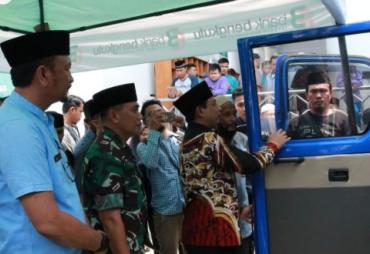 Inovasi Baru, Pemkot Bengkulu Launching Mobil Dukcapil…