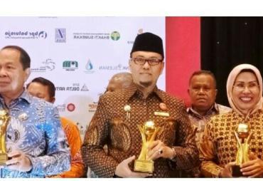 PDAM Kota Bengkulu Raih Penghargaan Top BUMD 2019