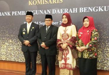 Gubernur Lantik Dewan Komisaris PT Bank Bengkulu