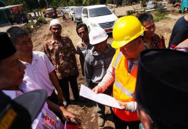 Gubernur Letakkan Batu Pertama Titik Nol Pembangunan Jalan…