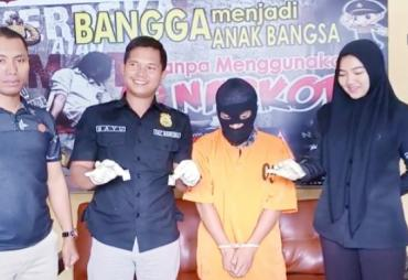 Laporan warga, Polres Bengkulu Utara Amankan 4 Paket Sabu…