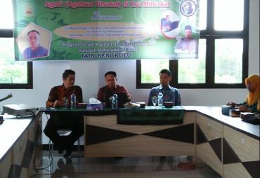 Seminar Filsafat Era Milenial di IAIN Bengkulu