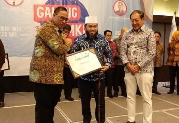 Terima Natamukti Award 2019 dari ICSB, Walikota : Semoga…