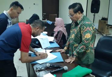 Jelang Porwil, Provinsi Se Sumatera Lakukan Penandatanganan…