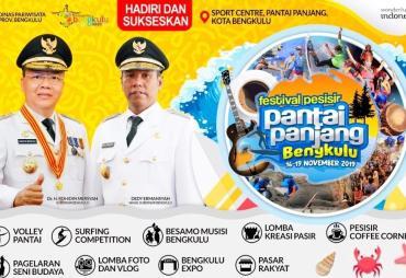 Ayo Saksikan, Festival Pesisir Pantai Panjang Bengkulu 16-…