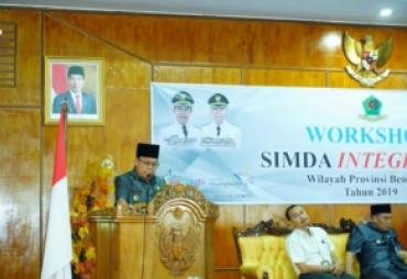 Pemda RL Gelar Workhsop SIMDA Integrated
