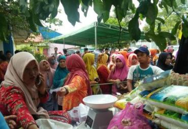 Disperindag Gandeng Baznas Kota Adakan Pasar Murah