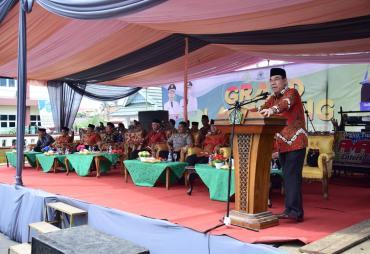 Bupati Hijazi Resmikan Kampus UPP Rejang Lebong