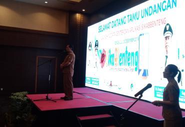 Pemkab Bengkulu Tengah Lounching Aplikasi SIKABBENTENG