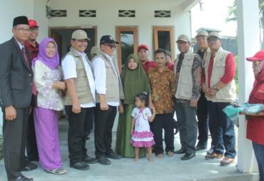 Penerima BSPS Diharapkan Tingkatkan Kesejahteraan Keluarga