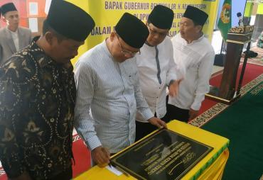 Gubernur Rohidin Didampingi Ketua DPW LDII Meri Sasdi…