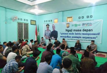 Kapolda Bengkulu Berbagi Tips Menjadi Pemimpin Negarawan