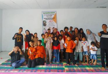 Peduli Disabiltas, Kampung Dongeng Raflesia Bengkulu…
