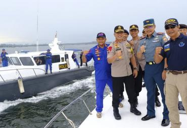 Amankan Perairan Bengkulu, TNI dan POLRI Siap Bersinergi