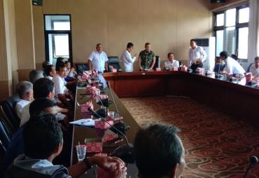 Pemkab BS Akan Tata Tapal Batas Desa Dalam Kecamatan Pino