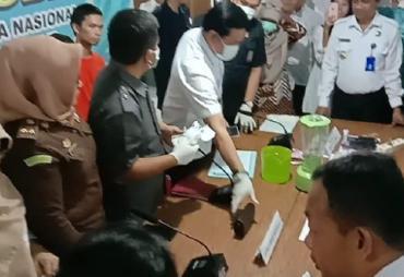 BB 252,05 Gram Sabu Dimusnahkan BNNP Bengkulu