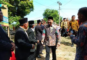 Kunker di BS, Gubernur Rohidin Hadiri Syukuran Waka I DPRD…