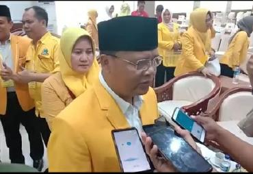 Terpilih Kembali Ketua DPD Golkar Bengkulu, Ini Target…