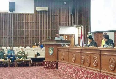 Paripurna Penyampaian Nota Penjelasan 3 Raperda Provinsi…