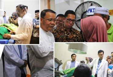 Tingkatkan Layanan Kesehatan, Gubernur Rohidin Luncurkan…