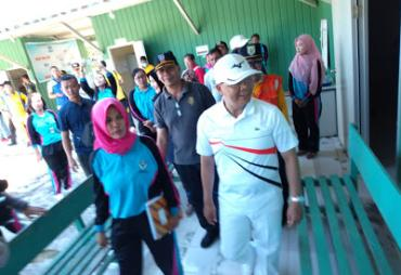 Gubernur Rohidin Tinjau RS Bergerak Enggano