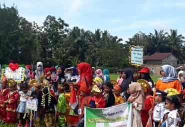 Ratusan Anak dan Guru Paud di Mukomuko Ikuti Gebyar Paud