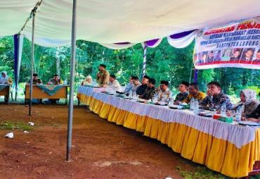 Reses Dapil I, Anggota DPRD Lebong Kebanjiran Aspirasi