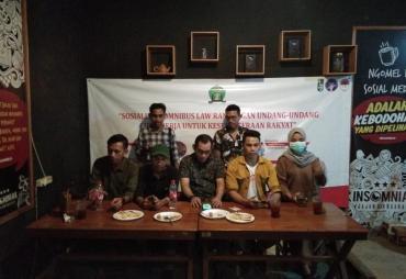 Aliansi Mahasiswa Ciputat Dukung Omnibus Law RUU Ciptaker