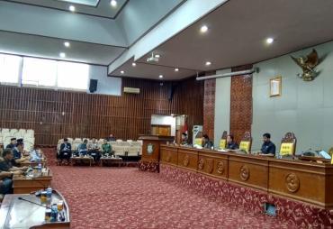 Paripurna DPRD Provinsi Bengkulu, Raperda Retribusi Jasa…