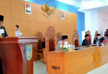 Paripurna Penyampaian Rekomendasi DPRD Bengkulu Utara…