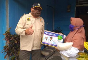 Dinas PUPR Kota Bengkulu Bantu Salurkan Rasmie Untuk Warga