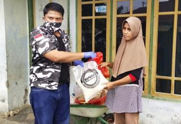 Bapera Provinsi Bengkulu Bantu Masyarakat dan Panti Asuhan