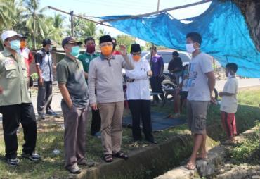 Bantu Korban Kebakaran, Gubernur Rohidin : Musibah Kita…
