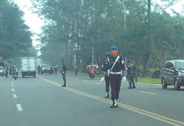 Bersama TNI Dan Satpol PP, Polda Bengkulu Gelar Razia Masker