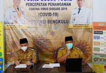 Total Kasus Positif Covid-19 di Bengkulu Jadi 40 Orang