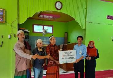 Gubernur Rohidin Salurkan CSR Bank Bengkulu ke Masjid Al-…
