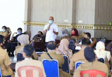 New Normal, Pemkab BS Tutup Posko Air Tenam dan Susun…