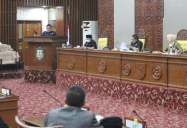 Paripurna, Banggar DPRD Provinsi Bengkulu Setujui Raperda…
