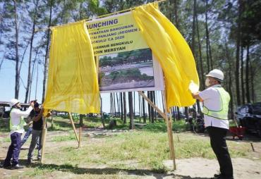 Gubernur Rohidin Letakkan Batu Pertama Penataaan Bangunan…