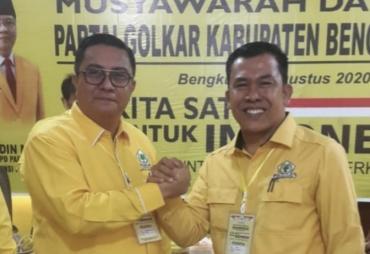 Juhaili Pimpin DPD II Golkar Bengkulu Utara