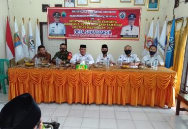 Desa Sukamarga Gelar Musdessus 2020 dan RKPDes 2021