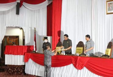 DPRD Provinsi Bengkulu Gelar Paripurna Penyampaian Laporan…