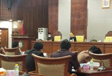 DPRD Provinsi Bengkulu Gelar Paripurna Pengesahan Risalah…
