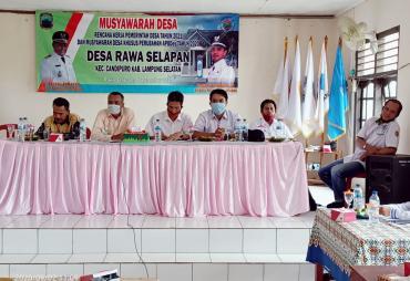 Desa Rawa Selapan Adakan Musdessus 2020 dan RKPDes 2021