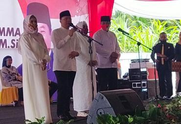 Deklarasikan Maju Pilgub Bengkulu, Rohidin - Rosjonsyah…