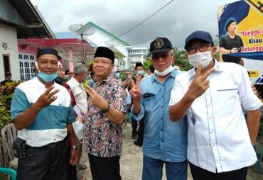 Tiga Mantan Bupati Bengkulu Selatan Iringi Pemenangan…