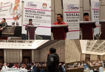 SMSI-KPU Sosialisasi dan Doa Keselamatan Pilkada