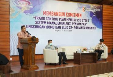 Plt Gubernur Bengkulu Buka Sosialisasi Sistem Managemen…