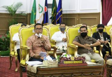 Sosialisasi UU Cipta Kerja, Plt Gubernur Bengkulu :…