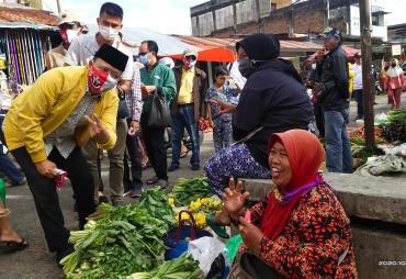 Doa dan Harapan Oleh Pedagang Pasar Curup Untuk Rohidin…